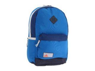 New Adidas Moseley Backpack Laptop School Bag Hiking Blue Navy Grey