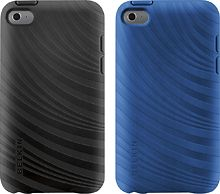 Belkin Essential 023 for iPod Touch Black Blue Grip Soft Case New