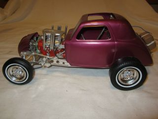 Vintage Fiat Gasser Drag Coupe 60s Revell 1 8 Car Very Nice