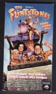 Flintstones The Flintstones 1994 VHS Movie w John Goodman Rick Moranis