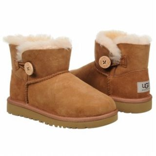 Kids UGG  Mini Bailey Button Pre/G Chestnut