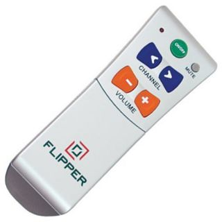 Flipper Two Device Big Button Universal Low Vision TV Remote