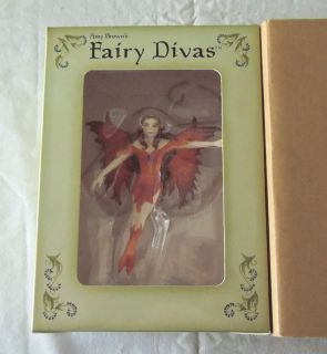 Fire Fairy Amy Brown Fairy Divas 2002 New in Box
