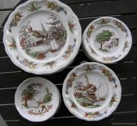 Spode China Dinnerware Fair Haven Nautical 12 Sets SV
