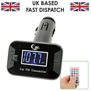 Car FM Transmitter Remote Charger SD USB Slot for Samsung Galaxy Nexus