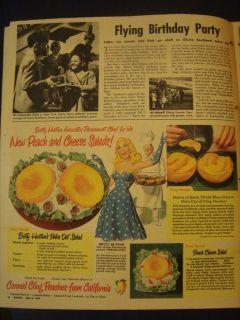 1310212SQ Esther Williams Midget Car Racing Parade Magazine 05 1948