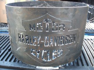 Harley Davidson Fire Pit Ring New