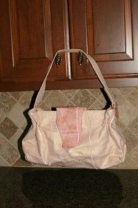 Chi by Falchi Lambskin Leather Shoulder Bag Snakeskin