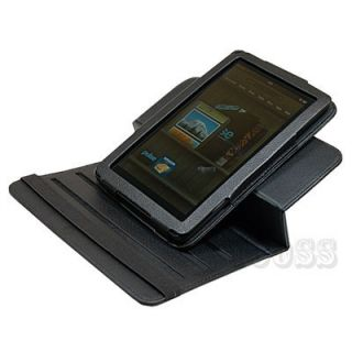 Stand Folio Case Cover for  Kindle Fire Tablet Black