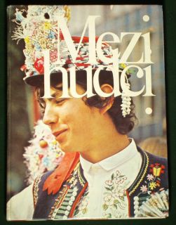 Book Czech Slovak Folk Dance Festival Ethnic Costume Kroj Moravia