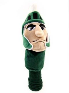 Licensed NCAA Michigan State Spartan Mascot Driver Golf Headcover
