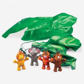 12 Zoo Theme Paratroopers Kids Birthday Party Favors