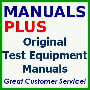 Tektronix 475A Service Manual Original