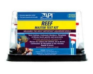 Reef Master Test Kit for Saltwater Marine Aquariums Fish Tanks