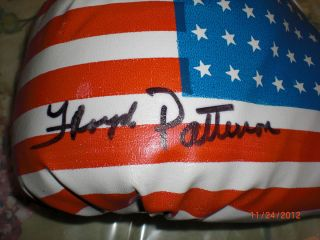 RARE Boxing Legend Floyd Patterson Hand Signed Boxing Glove