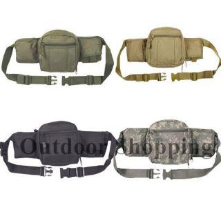 Tactical Adjustable Waist Fanny Back Pack Bag Traveling