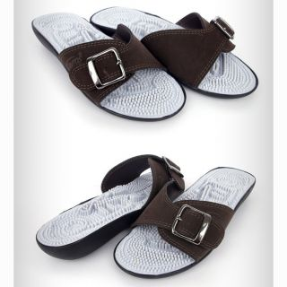 Support Acupuncture Slipper Sandal Foot Massage Flip Flops New