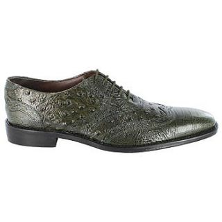Mens   Dress Shoes   Green