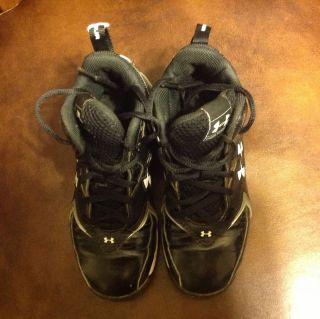 Gear Hammer Black Boys Football Baseball Cleats Shoes Size 1y