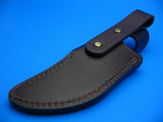 Buck Knives Brown Leather Sheath for Fixed Blade Knife