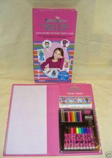 Fashion Angels Costume Design Sketch Book w Colors