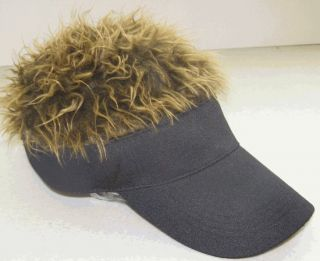 Billy Bob Flair Hair Visor Hat Golf Gray Grey Red New
