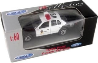 Welly 1999 Ford Crown Victoria Diecast Police Car 1 60