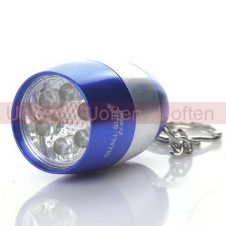 50 Lumen Bright White Light LED Flashlights with Key Chain Good