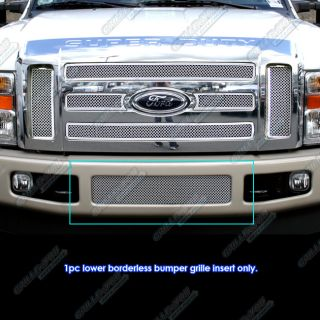 08 2010 ford f 250 f 350 f 450 f 550 stainless steel mesh grille grill