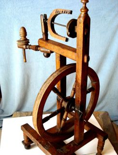 Spinning Wheel Europe 19th Century Original Great Condition