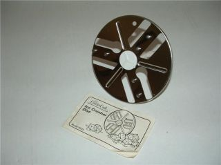 400 823603 7 Speed Food Processor Ice Chopping Blade Disc