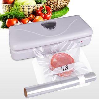 Freshlock Vacuum Food Saver Air Tight Sealer Storage w Rolling Bags