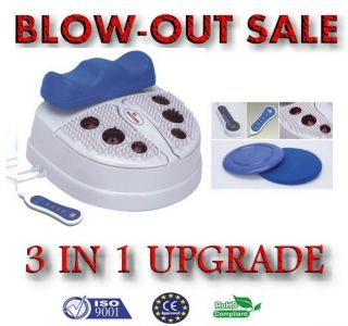 New 2012 Chi Machine Swing Shake with Infrared Light Foot Massager w