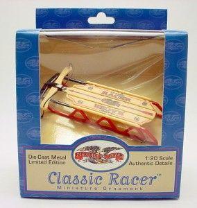 Flexible Flyer Sled Diecast Christmas Ornament Classic Racer Diecast