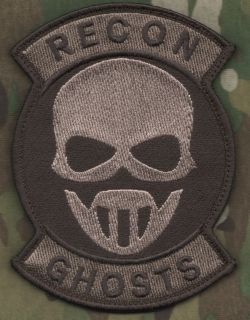 US MARINES FORCE RECON ARMY RANGERS VELCRO PATCH: GRAW GHOST RECON
