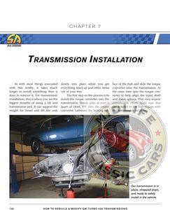 How to Rebuild Modify GM Turbo 400 Transmissions Tran