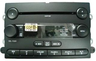 Ford Explorer 06 CD MP3 Radio 6L2T 18C869 AK New