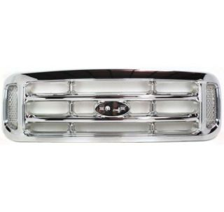 assembly grill chrome f450 truck f550 f250 f350 ford f 450 super duty