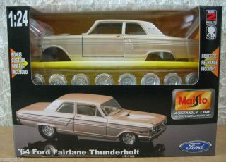 64 Ford Fairlane Thunderbolt Car Model Kit 1 24