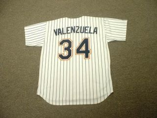 Fernando Valenzuela Padres 96 Cooperstown Jersey Large
