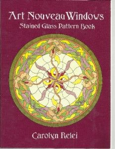 Boehm Stained Glass Blog: Art Deco stained glass window pattern making