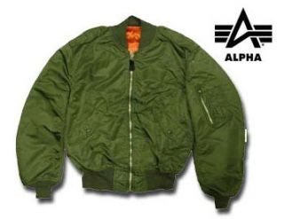 Alpha L 2B Military Style Sage Parka Flight Jacket New