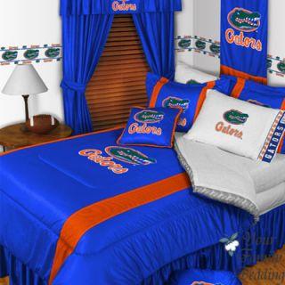 Florida Gators NFL Sport Football Teen Comforter Bedding Set Twin Full