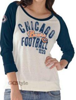 NFL Ladies Womens Playful Wishbone 3 4 Sleeve Jersey Top Shirt Sizes