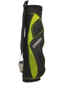 FORGAN Ultra Lite Carry Golf Bag Green Black New
