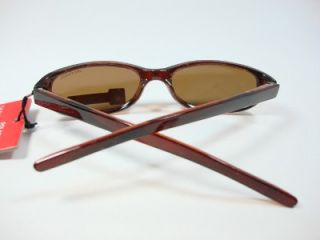 Foster Grant Small Frame Brown Sunglasses Polarized Ciao EG0311 New