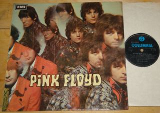 PINK FLOYD PIPER AT THE GATES OF DAWN RARE UK 1ST PRESS BLUE COLUMBIA