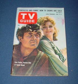 1965 V Guide Fess Parker Paricia Blair Daniel Boone