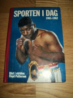 Swedish Book from 1961 with Floyd Patterson Boxing