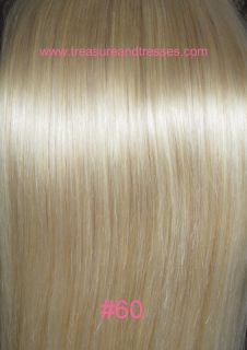 160g 20 Lock on Clip in Remy Human Hair Extensions Foxy Lady